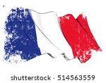 grunge vector illustration of a ... | Shutterstock .eps vector #514563559