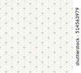art deco seamless background. | Shutterstock .eps vector #514563979