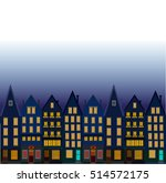background with night city.... | Shutterstock .eps vector #514572175