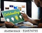 outstanding different special... | Shutterstock . vector #514574755