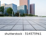 empty floor with modern... | Shutterstock . vector #514575961
