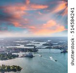 sydney harbour as seen from... | Shutterstock . vector #514584241