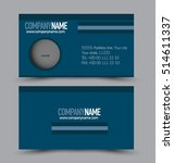 business card set template for... | Shutterstock .eps vector #514611337