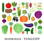 colorful collection of cute... | Shutterstock .eps vector #514622209
