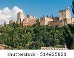 granada   the alhambra palace... | Shutterstock . vector #514625821