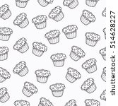 black and white graphics... | Shutterstock .eps vector #514628227