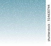 snow pattern  vector   Shutterstock .eps vector #514630744