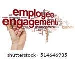 employee engagement word cloud | Shutterstock . vector #514646935