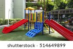 colorful playground. | Shutterstock . vector #514649899