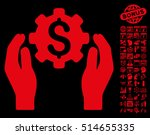 banking maintenance hands icon... | Shutterstock .eps vector #514655335