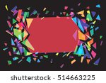 multicolor background. abstract ... | Shutterstock .eps vector #514663225