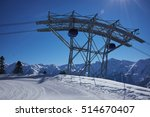 Ski Resort Panorama With Cable ...