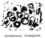 Ink Splatter Texture. Vector...