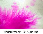 pink ink spread and absorbed... | Shutterstock . vector #514685305