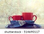 Small And Big Red Mug Wrapped...