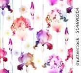 floral seamless pattern. vector ... | Shutterstock .eps vector #514690204