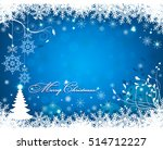 christmas background with... | Shutterstock .eps vector #514712227