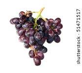red grape food object | Shutterstock . vector #51471517