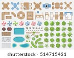 isolated vector illustration.... | Shutterstock .eps vector #514715431