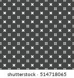 a simple vector x pattern | Shutterstock .eps vector #514718065