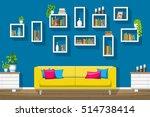 illustration of interior...   Shutterstock .eps vector #514738414