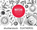 vector illustration frame for... | Shutterstock .eps vector #514740931