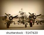 a wide vintage aeroplane in... | Shutterstock . vector #5147620