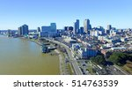 new orleans cityscape along... | Shutterstock . vector #514763539