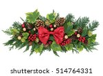 Christmas Decoration With Red...