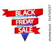 black friday sale  banner... | Shutterstock .eps vector #514769257