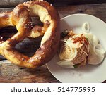 obazda  bavarian typical cheese ... | Shutterstock . vector #514775995