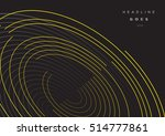 abstract futuristic background... | Shutterstock .eps vector #514777861