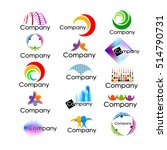 logo set. vector | Shutterstock .eps vector #514790731