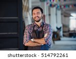 workshop is my world. happy... | Shutterstock . vector #514792261
