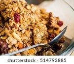 muesli in a bowl | Shutterstock . vector #514792885