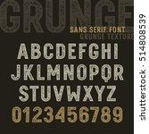 the original sans serif font... | Shutterstock .eps vector #514808539
