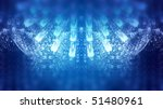 beautiful background in blues ...   Shutterstock . vector #51480961