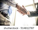 business handshake | Shutterstock . vector #514812787