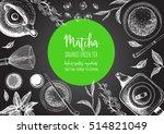 vector illustration frame for... | Shutterstock .eps vector #514821049