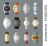 set of watches   Shutterstock .eps vector #514821301
