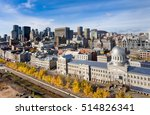 aerial view of bonsecours...   Shutterstock . vector #514826341