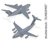 Vector Modern Military Jet For...