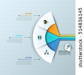 modern infographic design... | Shutterstock .eps vector #514836145