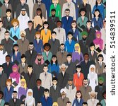 seamless pattern social ... | Shutterstock .eps vector #514839511