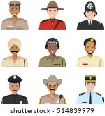 police people concept.... | Shutterstock .eps vector #514839979