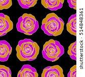 vector seamless pattern of...   Shutterstock .eps vector #514848361