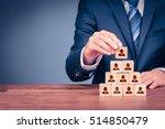human resources  corporate... | Shutterstock . vector #514850479