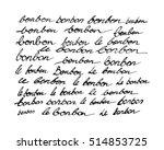 set vector of ''le bonbon''...   Shutterstock .eps vector #514853725