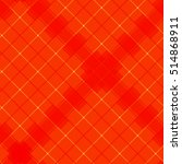 pattern tablecloth orange | Shutterstock .eps vector #514868911
