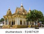buddhist temple in sihanouk... | Shutterstock . vector #51487429